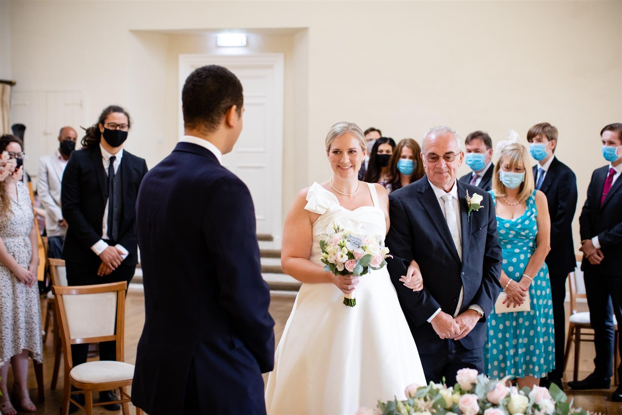 Wedding after Coronavirus in Farnham Surrey