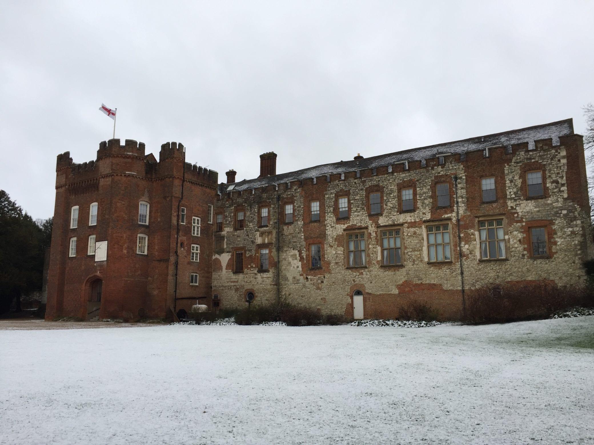 A winter wedding venue in Farnham Surrey