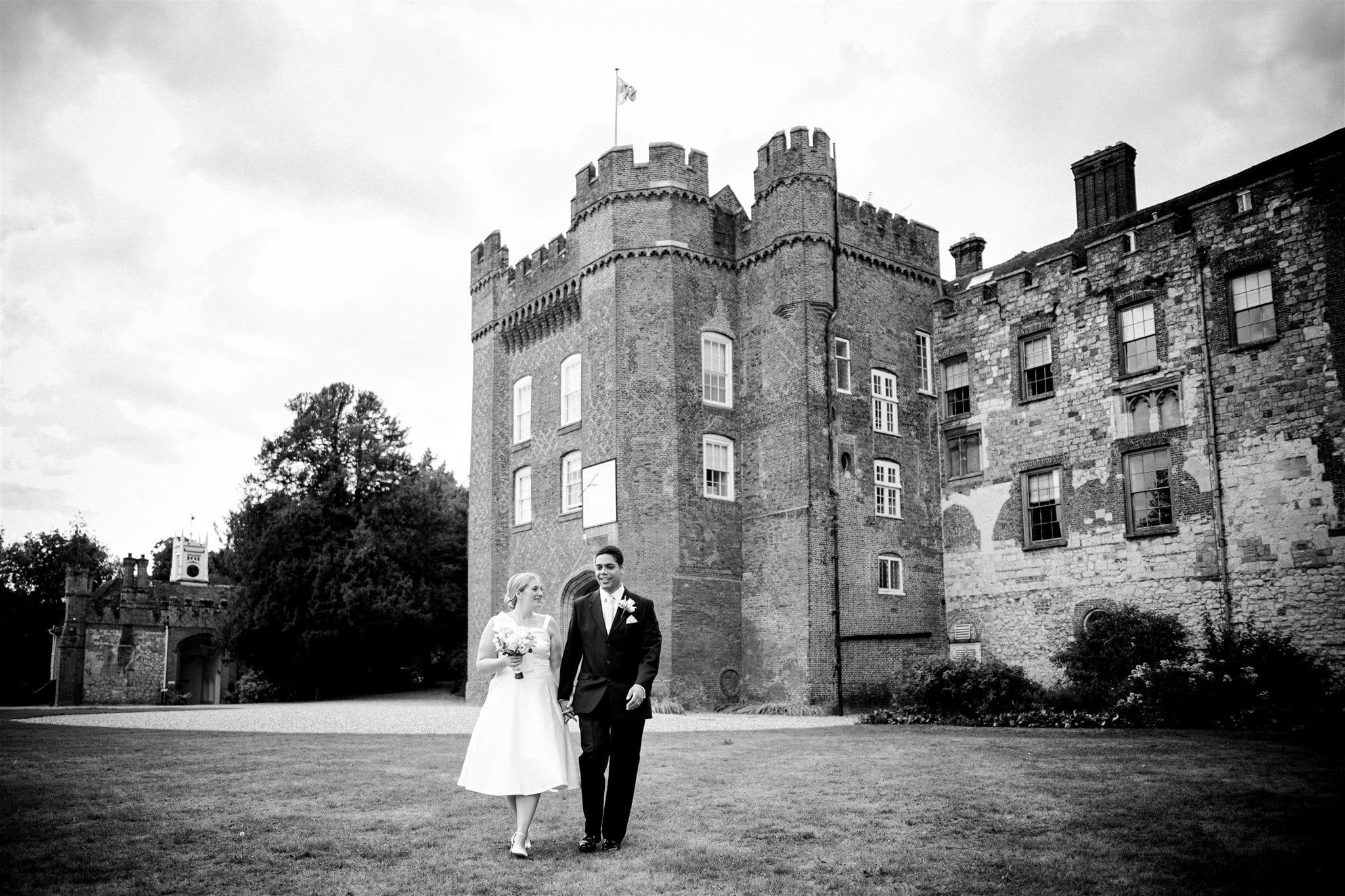 Farnham Castle small wedding venue in Surrey