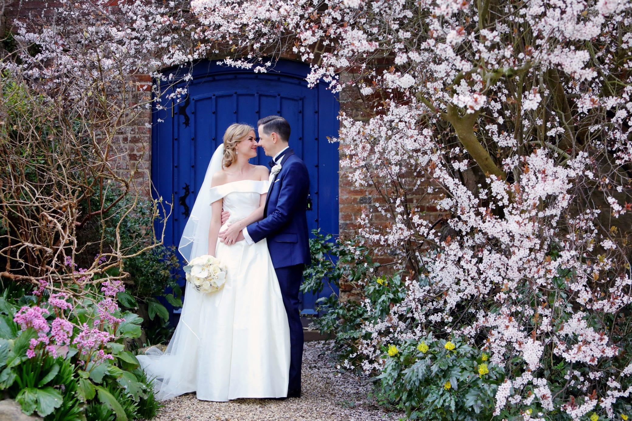 Romantic wedding photography in Farnham