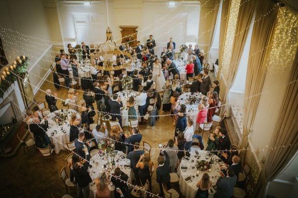 Farnham Castle is an elegant wedding reception in Surrey
