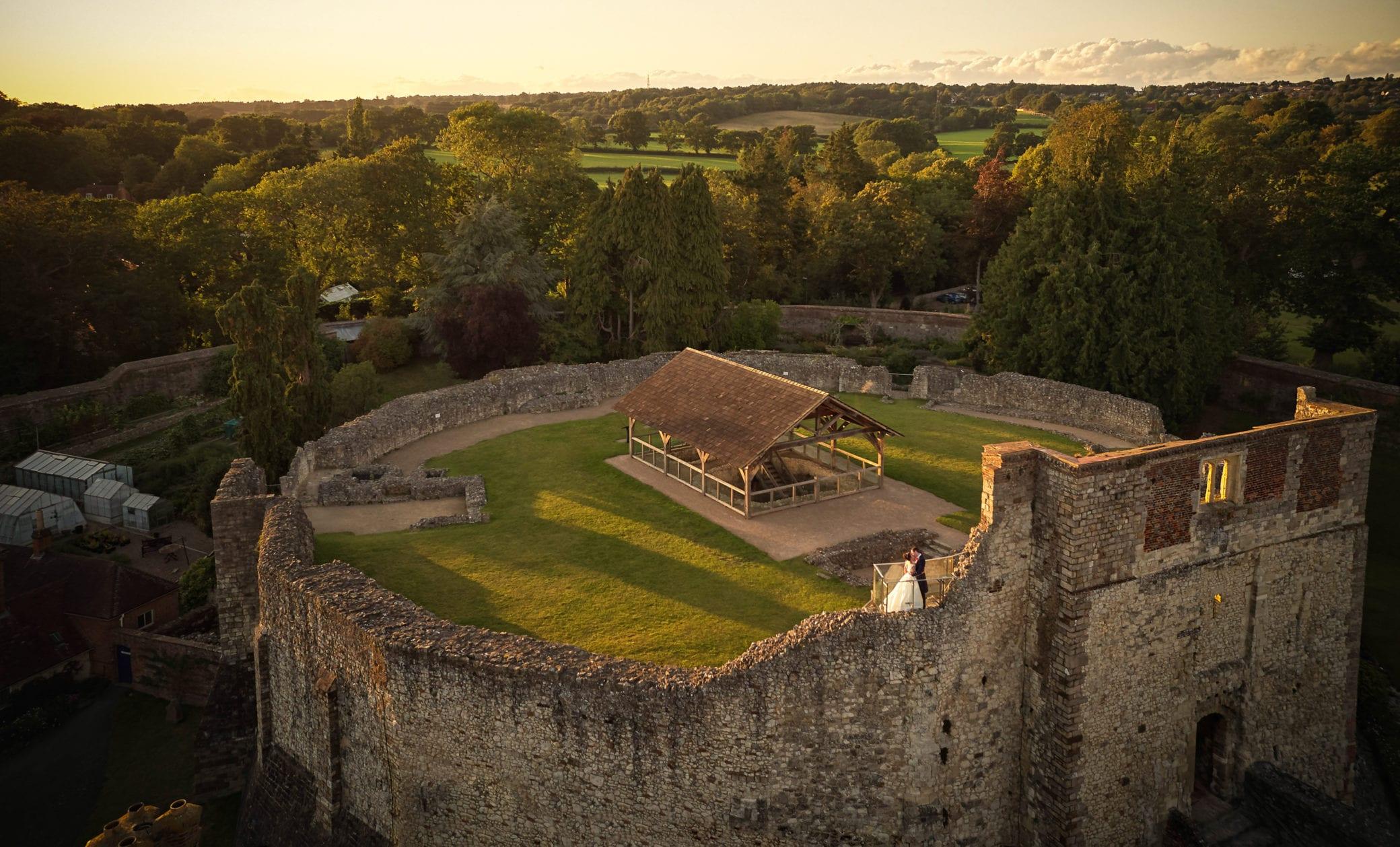 Farnham Castle Keep in Surrey