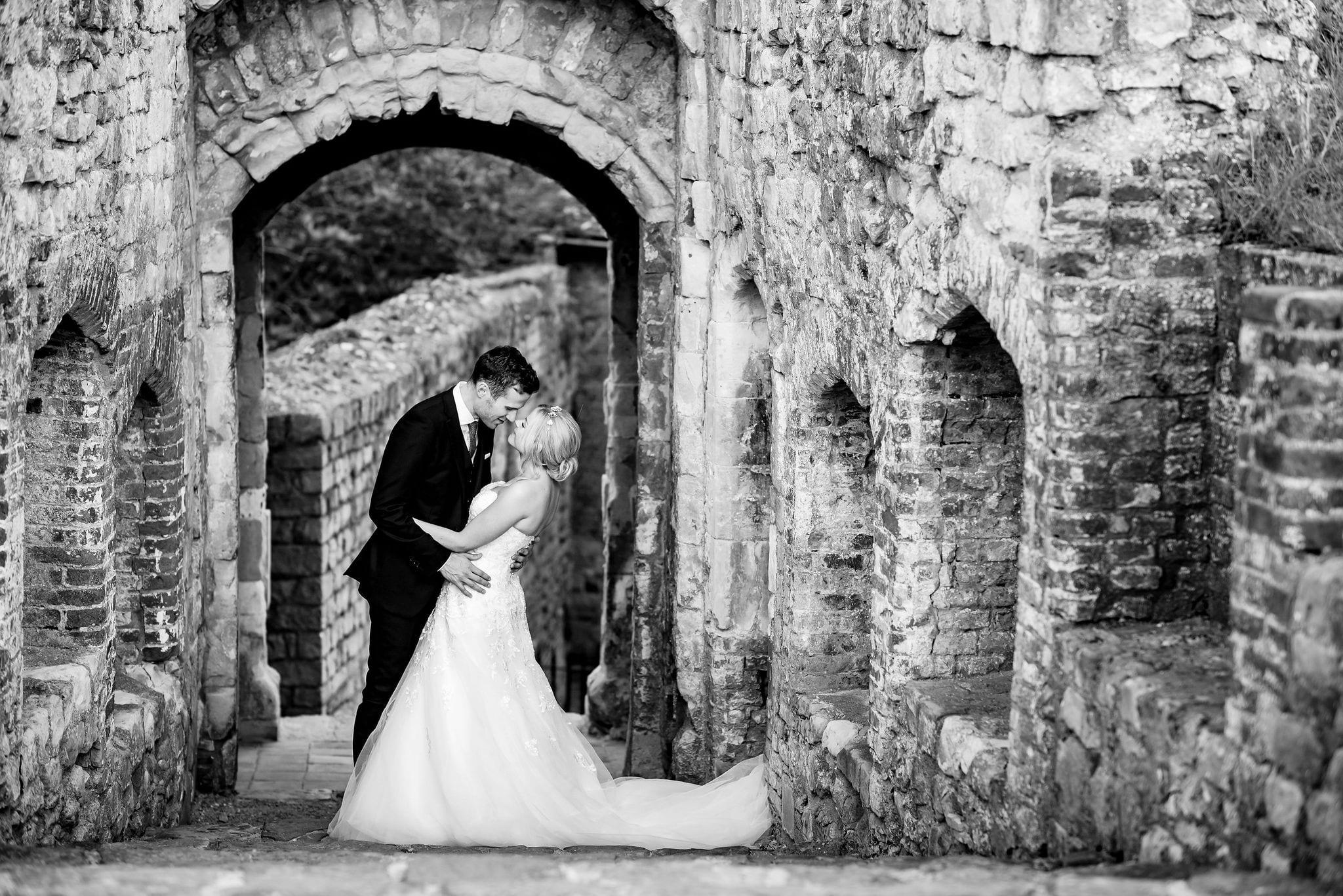 Castle wedding photography in Surrey