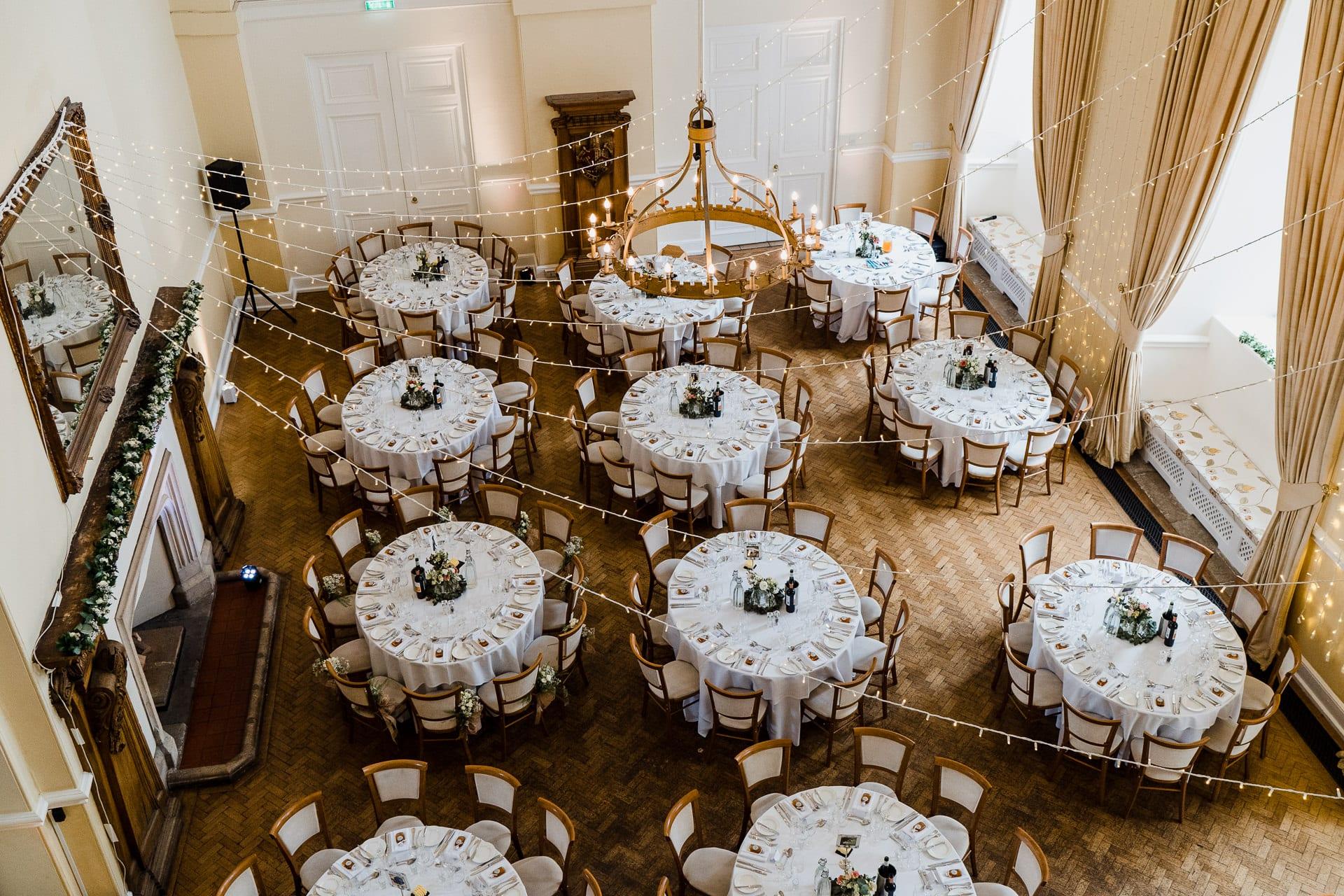 Large wedding reception venue in Surrey