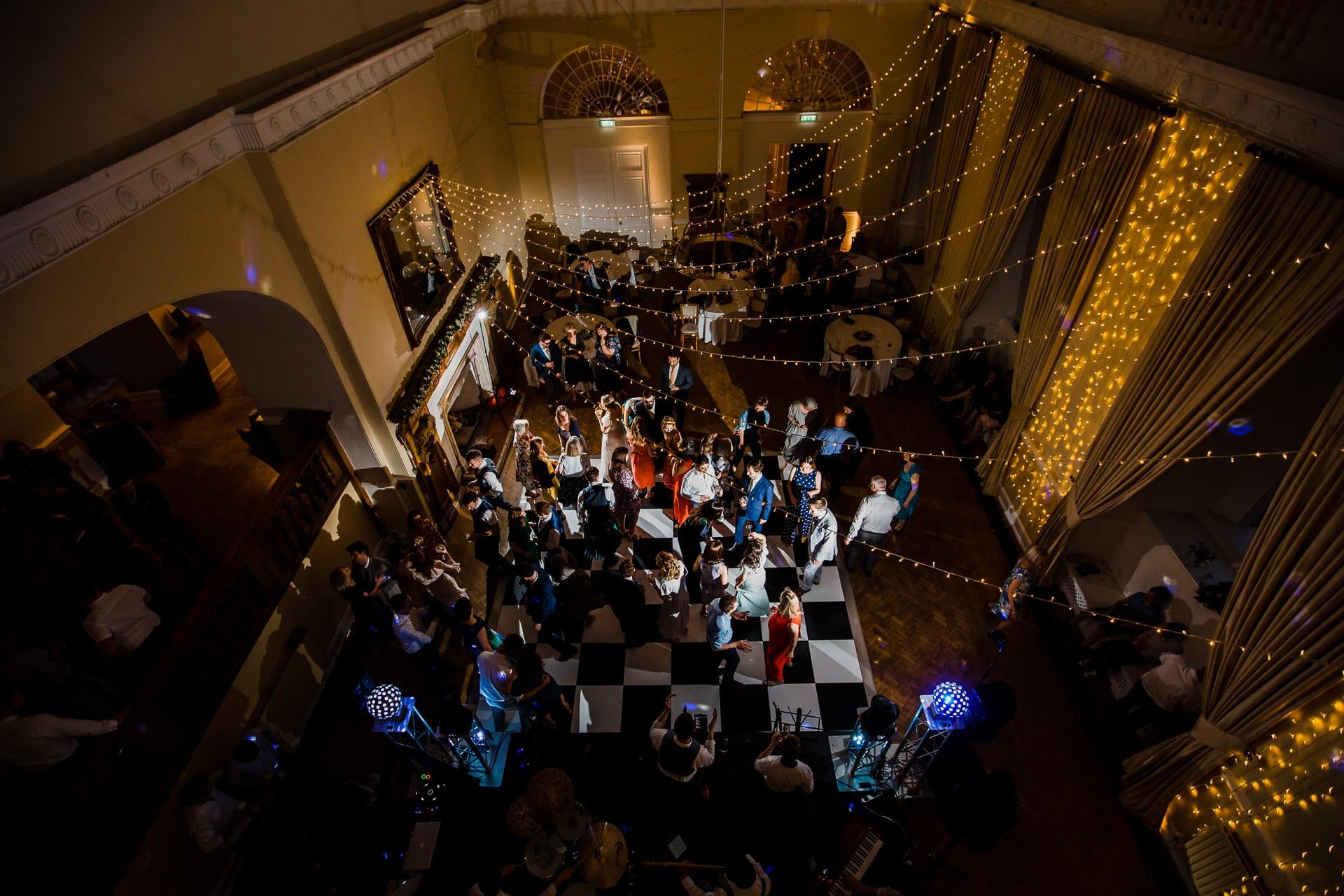 Large wedding reception space in Surrey