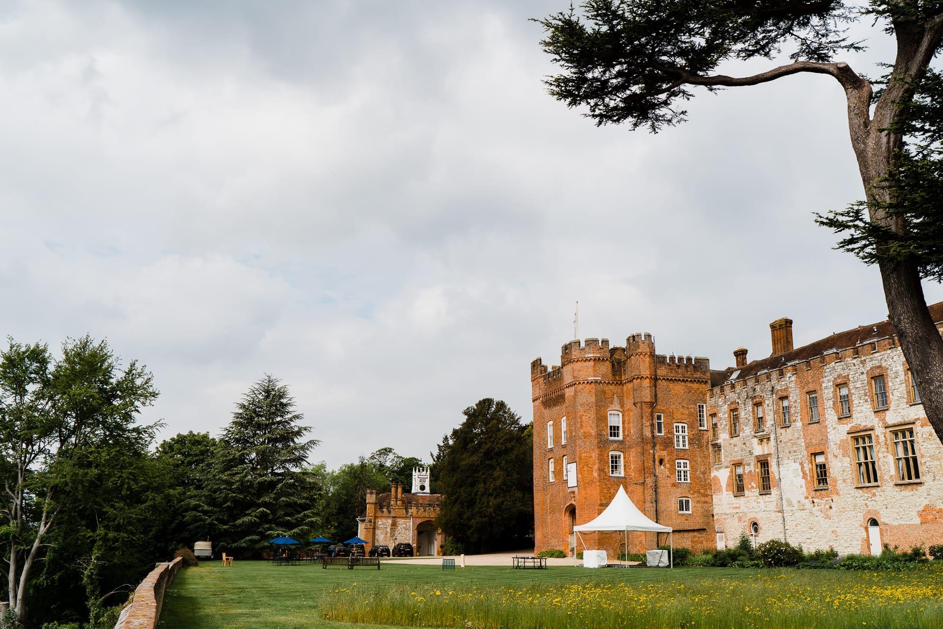 Farnham Castle is one of Surrey's Castle wedding venues