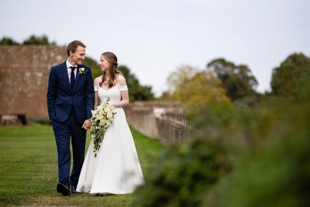 small weddings at Farnham Castle venue in Surrey