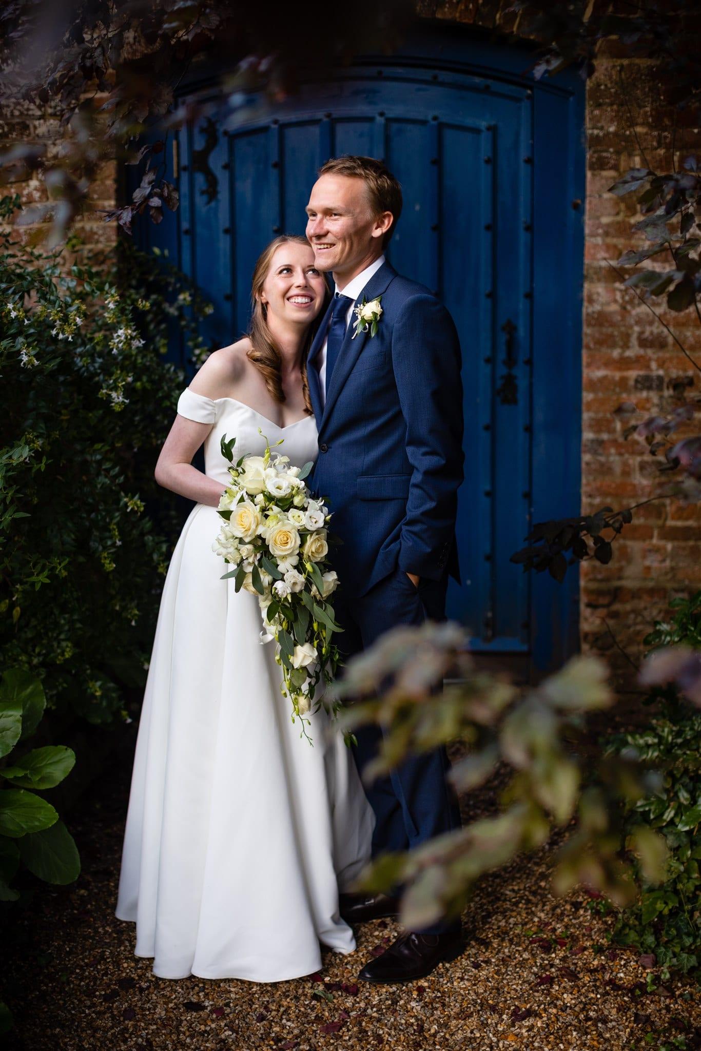 Wedding photo opportunities at Farnham Castle in Surrey