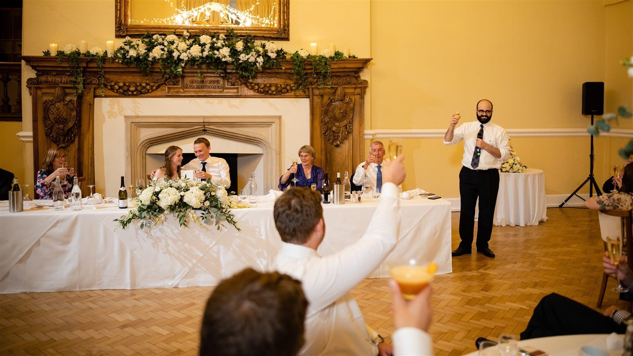 Socially distanced wedding venue in Surrey
