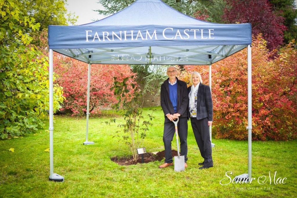 Farnham Castle employee celebrates 50 years of service