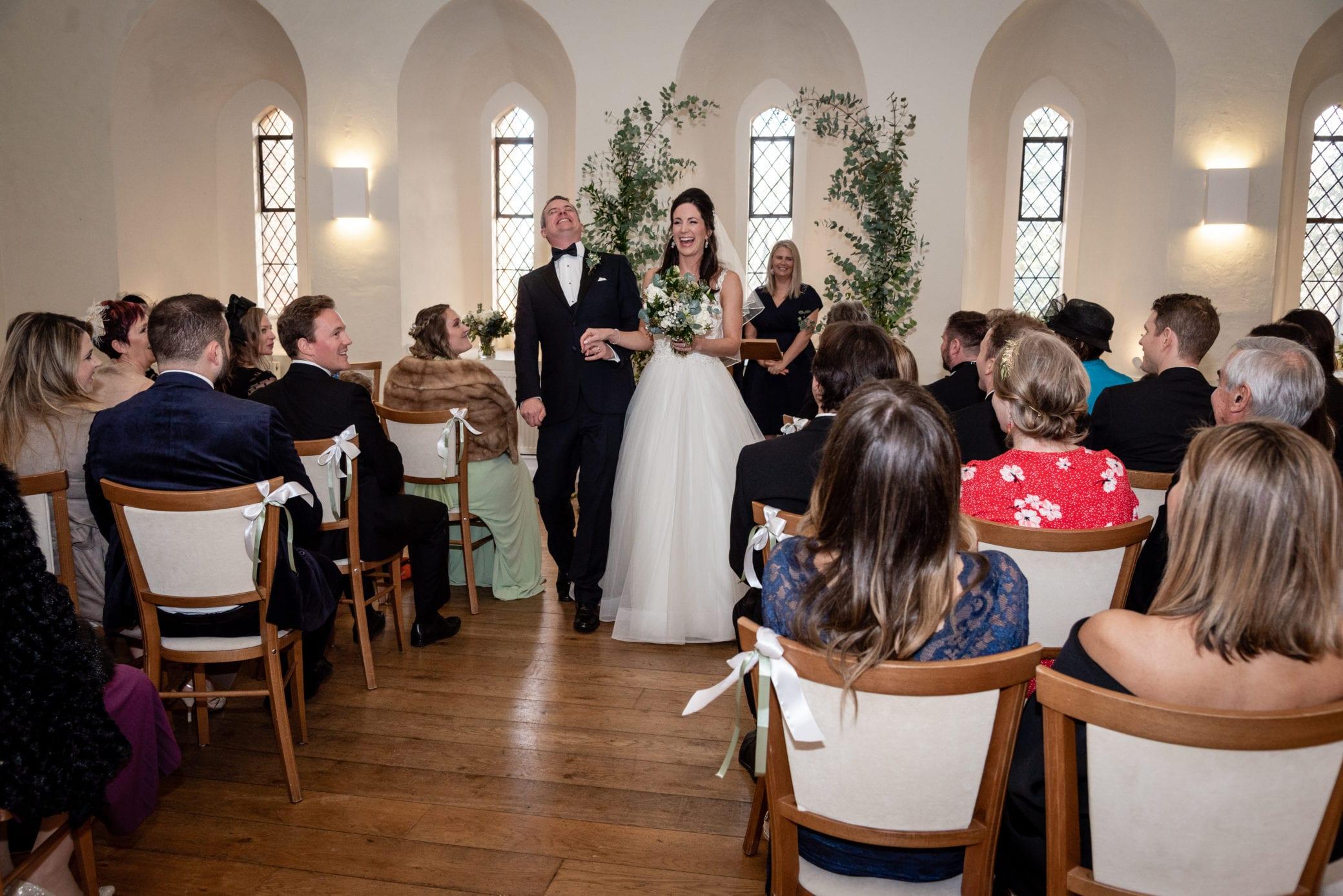 Wedding ceremonies at Farnham Castle