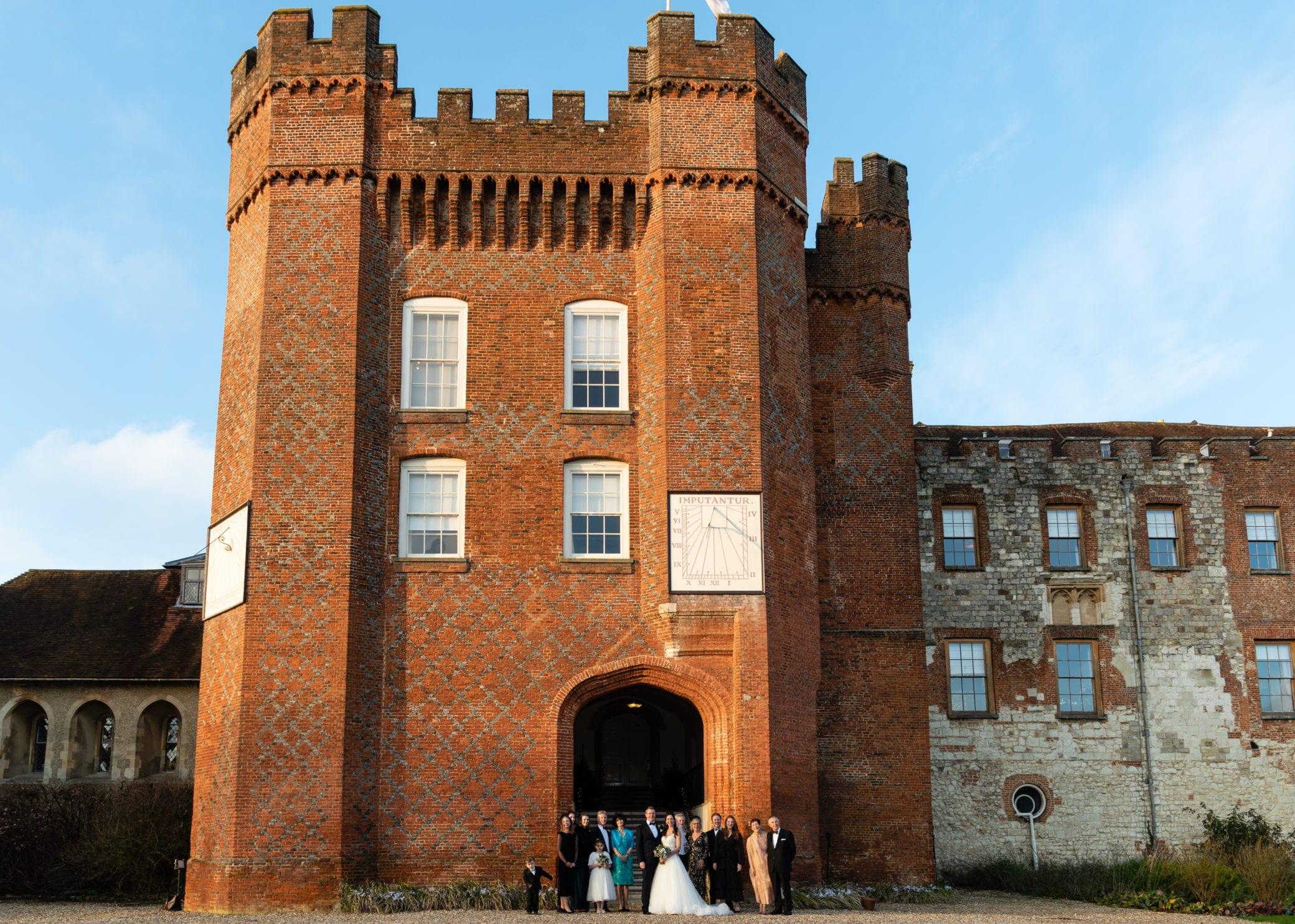 Historic wedding venue near Hampshire