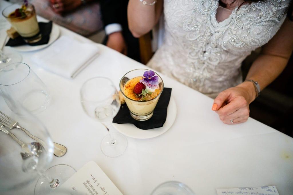 Food ideas for your wedding reception at Farnham Castle
