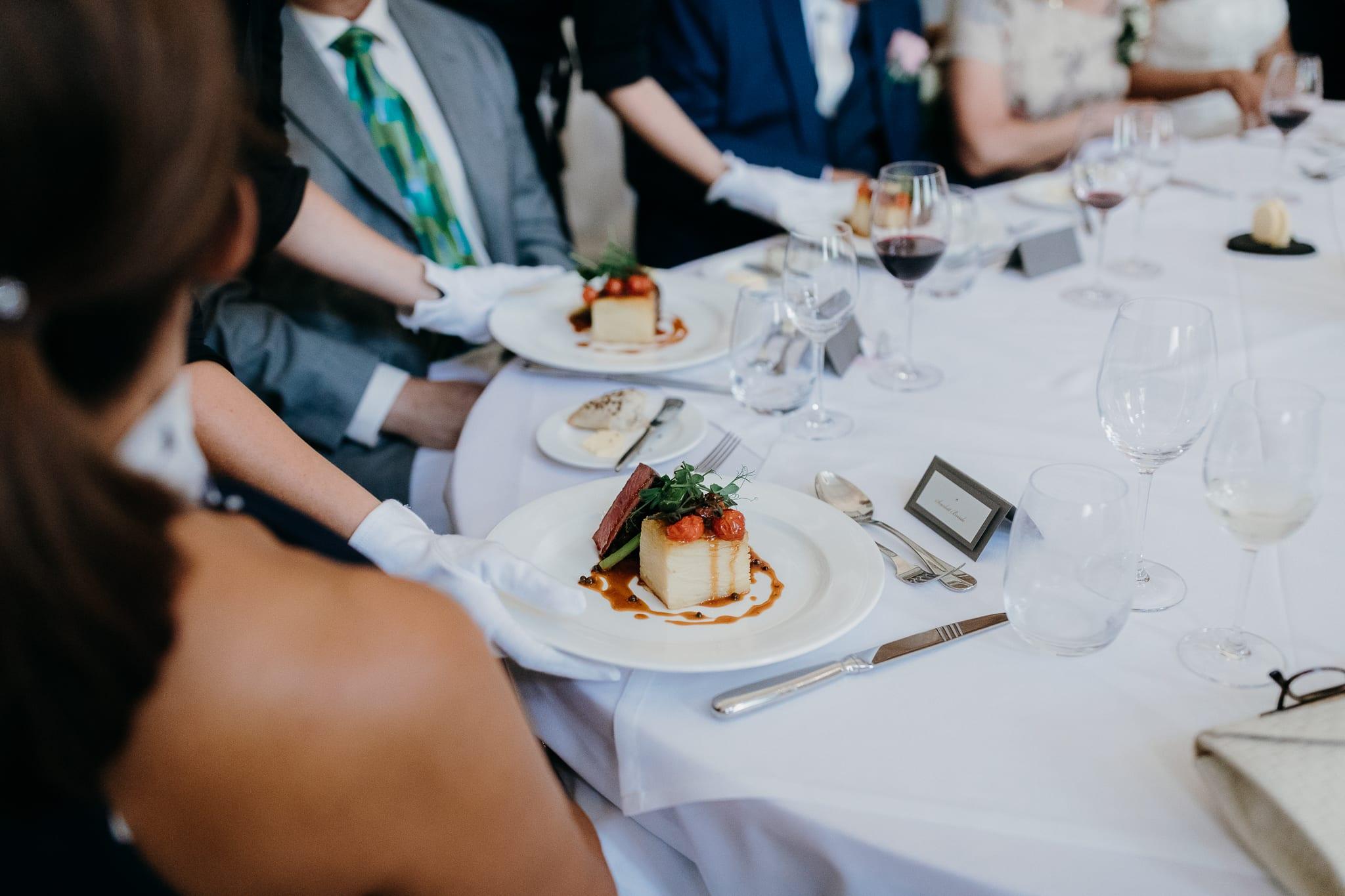 Wedding main course food ideas