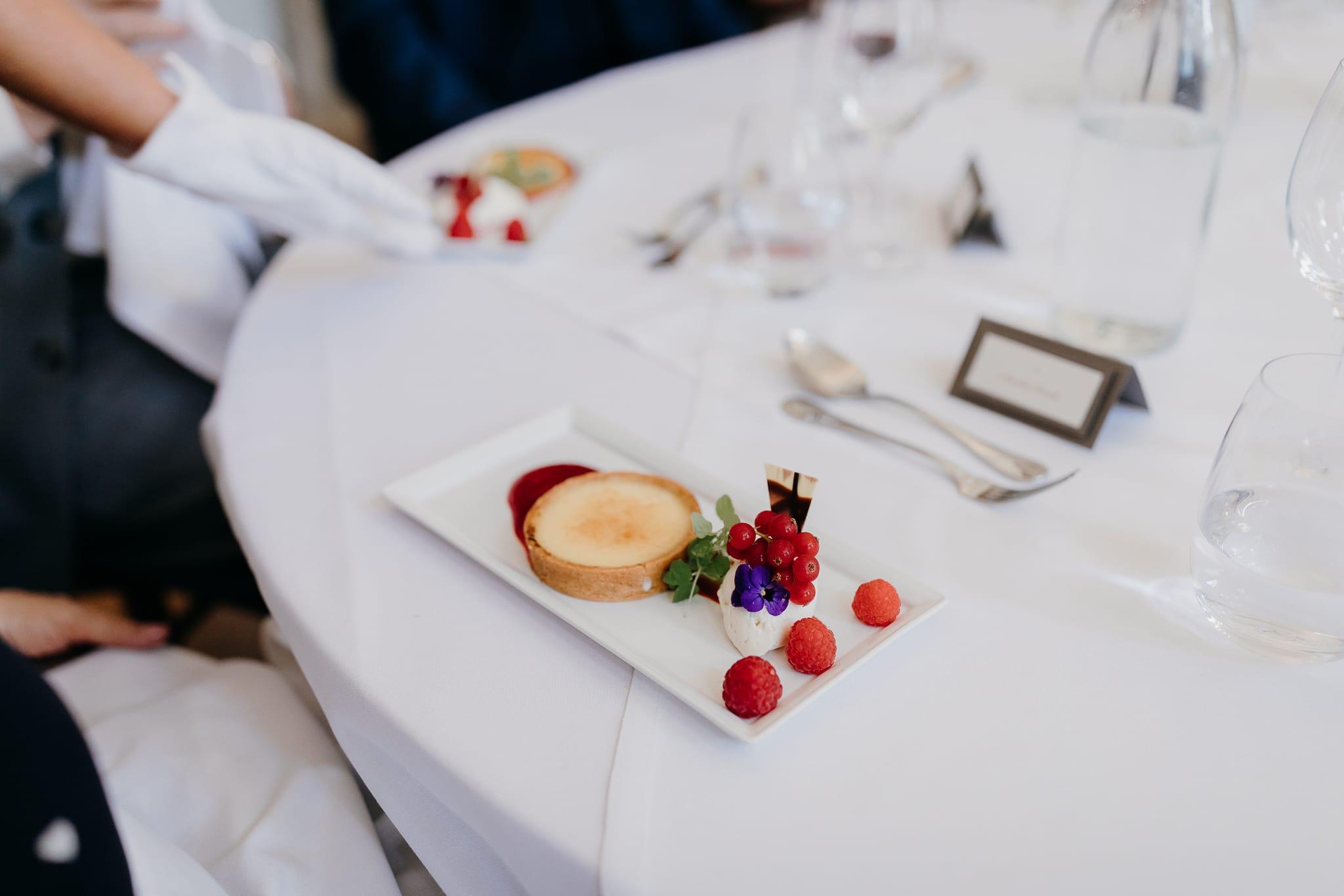 Wedding dessert ideas at Farnham Castle in Surrey
