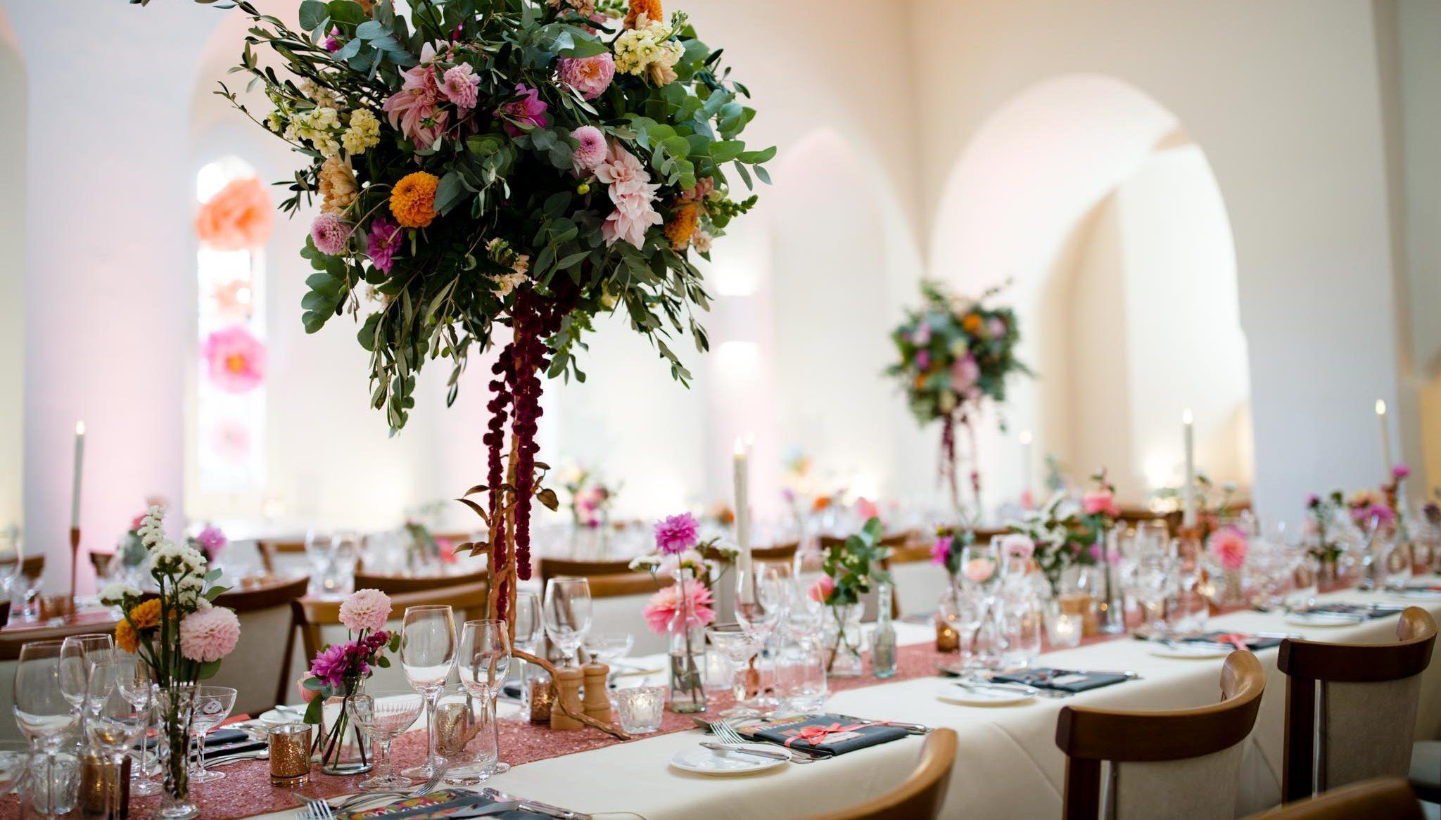 Party ideas at Farnham Castle in Surrey