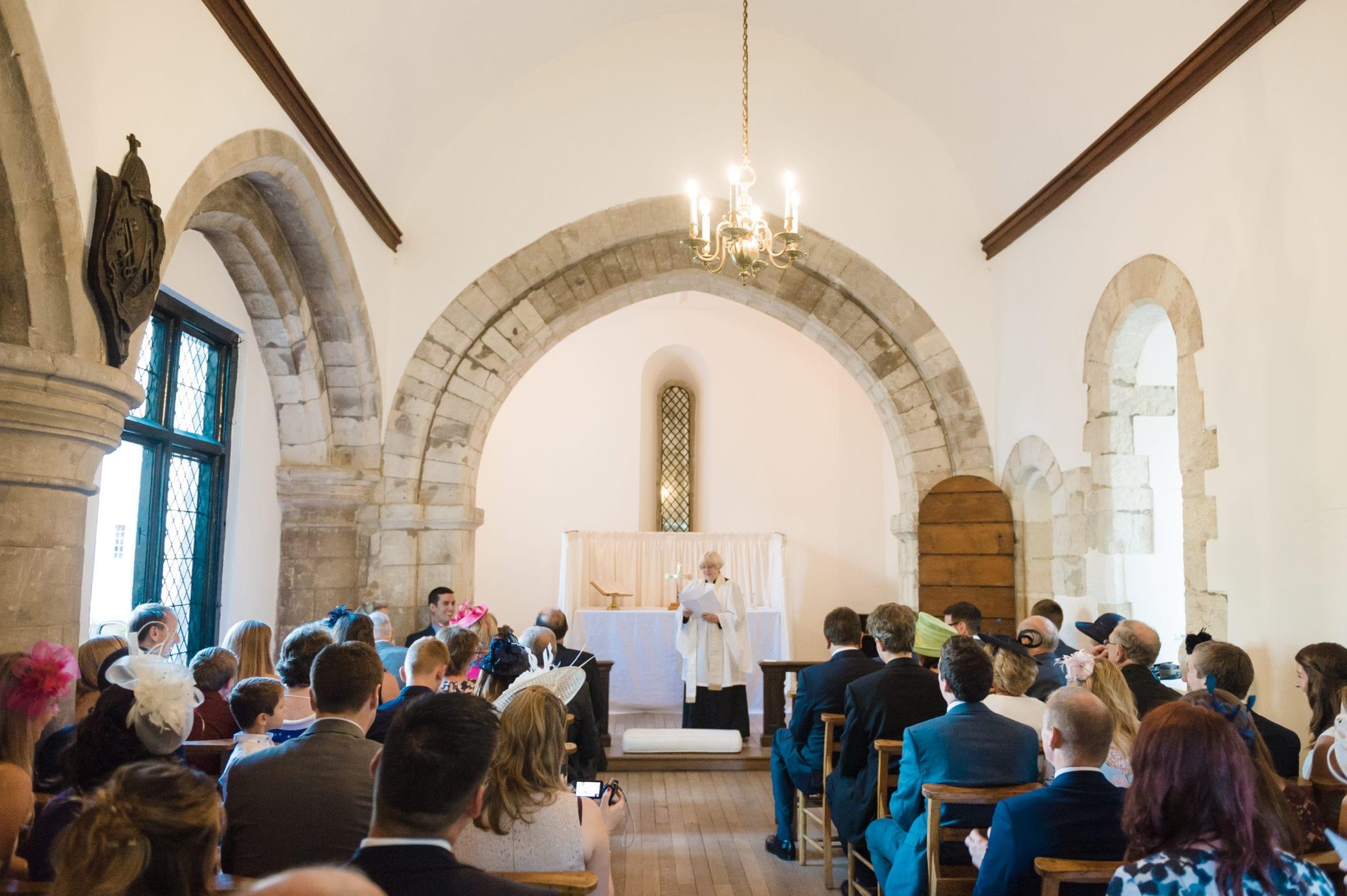 Chapel at wedding venue in Surrey