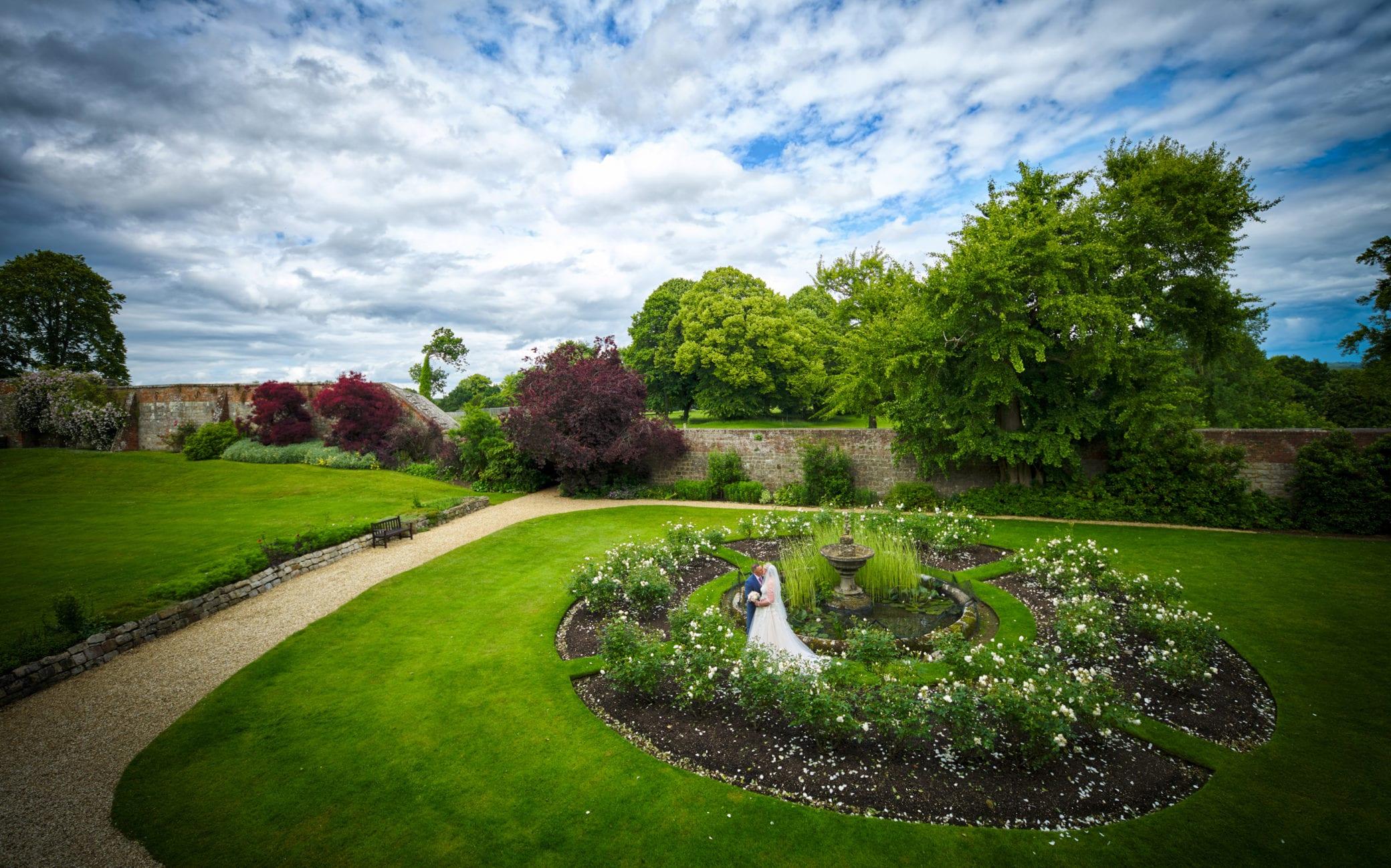 Wedding venue with gardens in Surrey