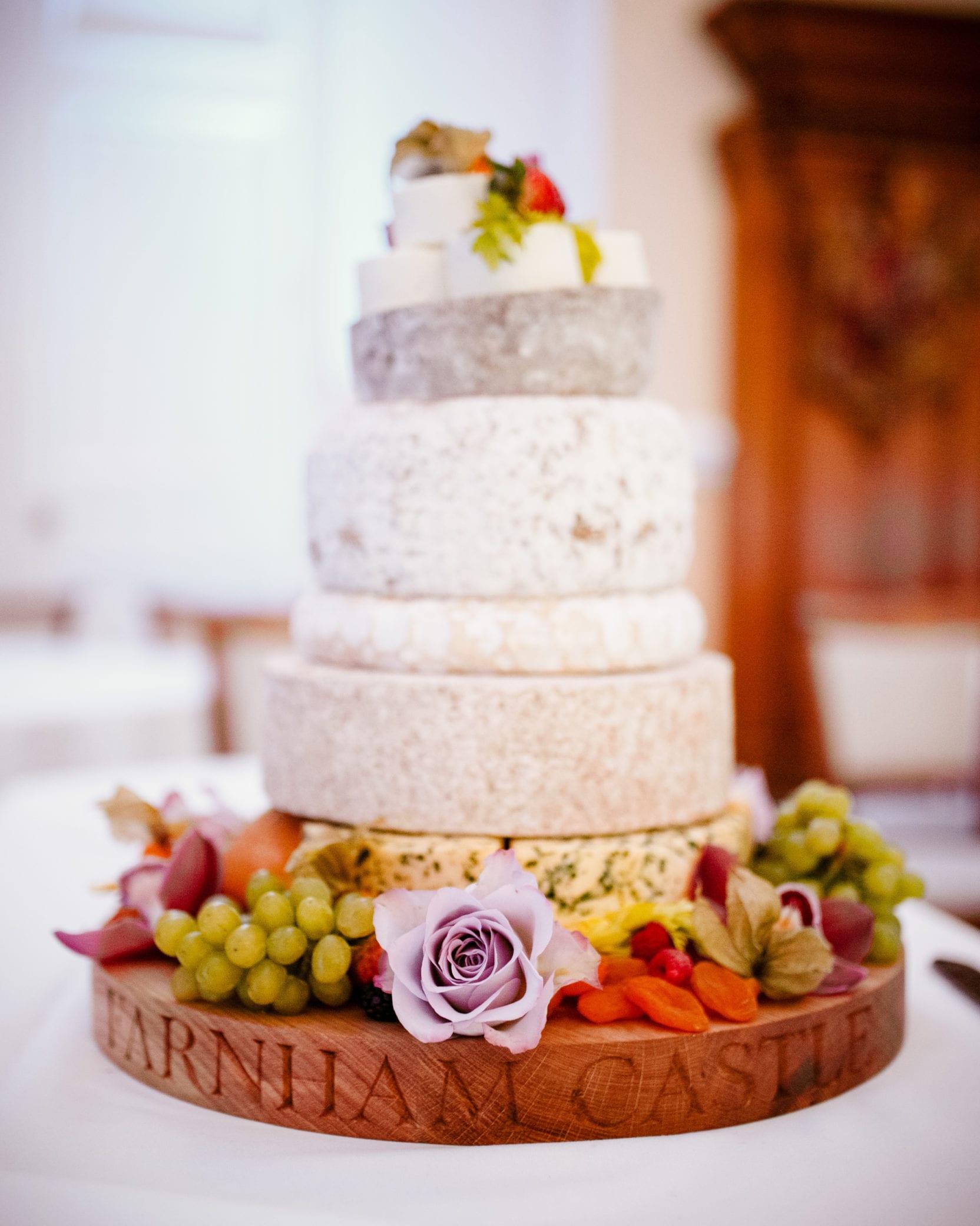 Cake ideas at Farnham Castle in Surrey
