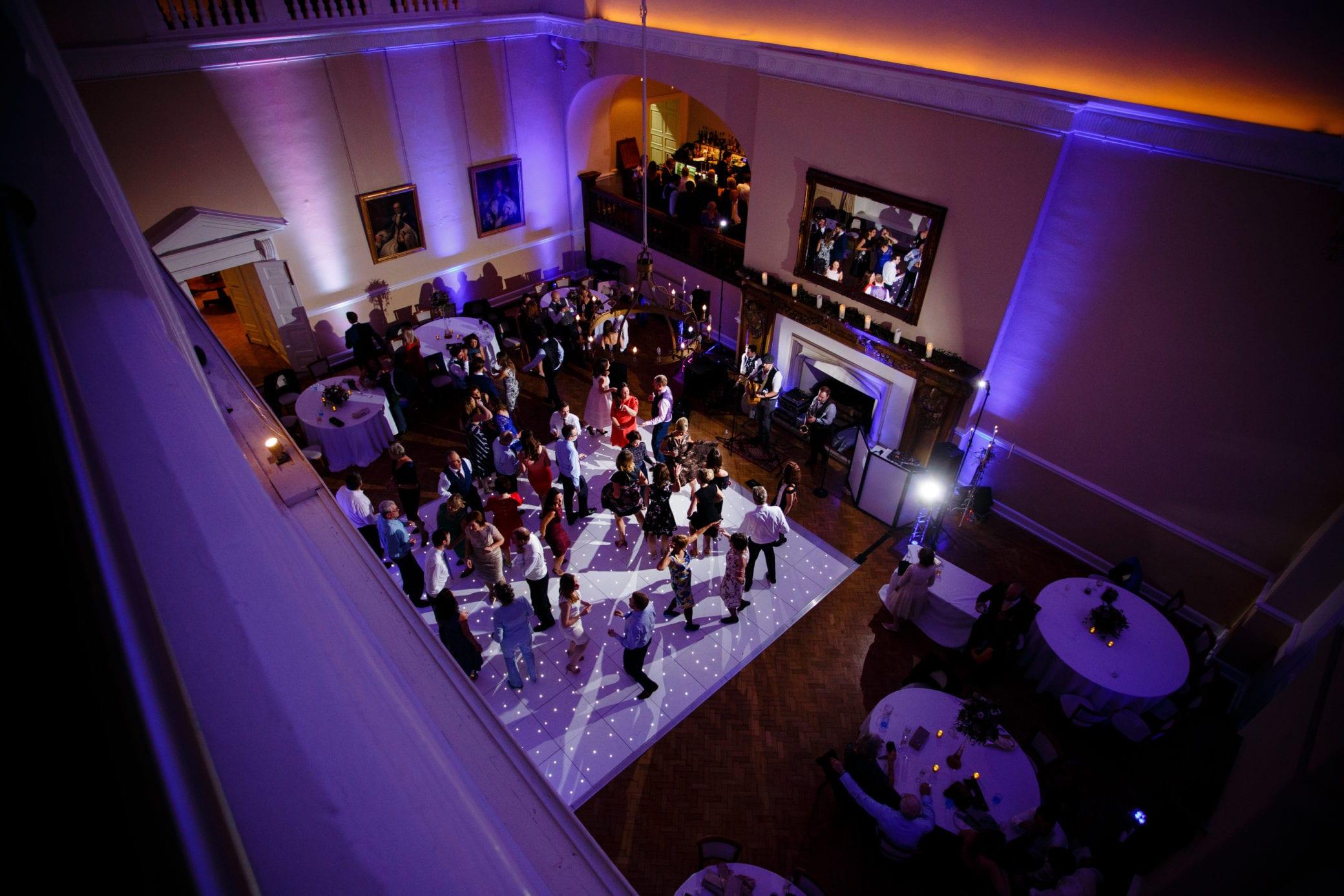Venue with dance floor in Surrey