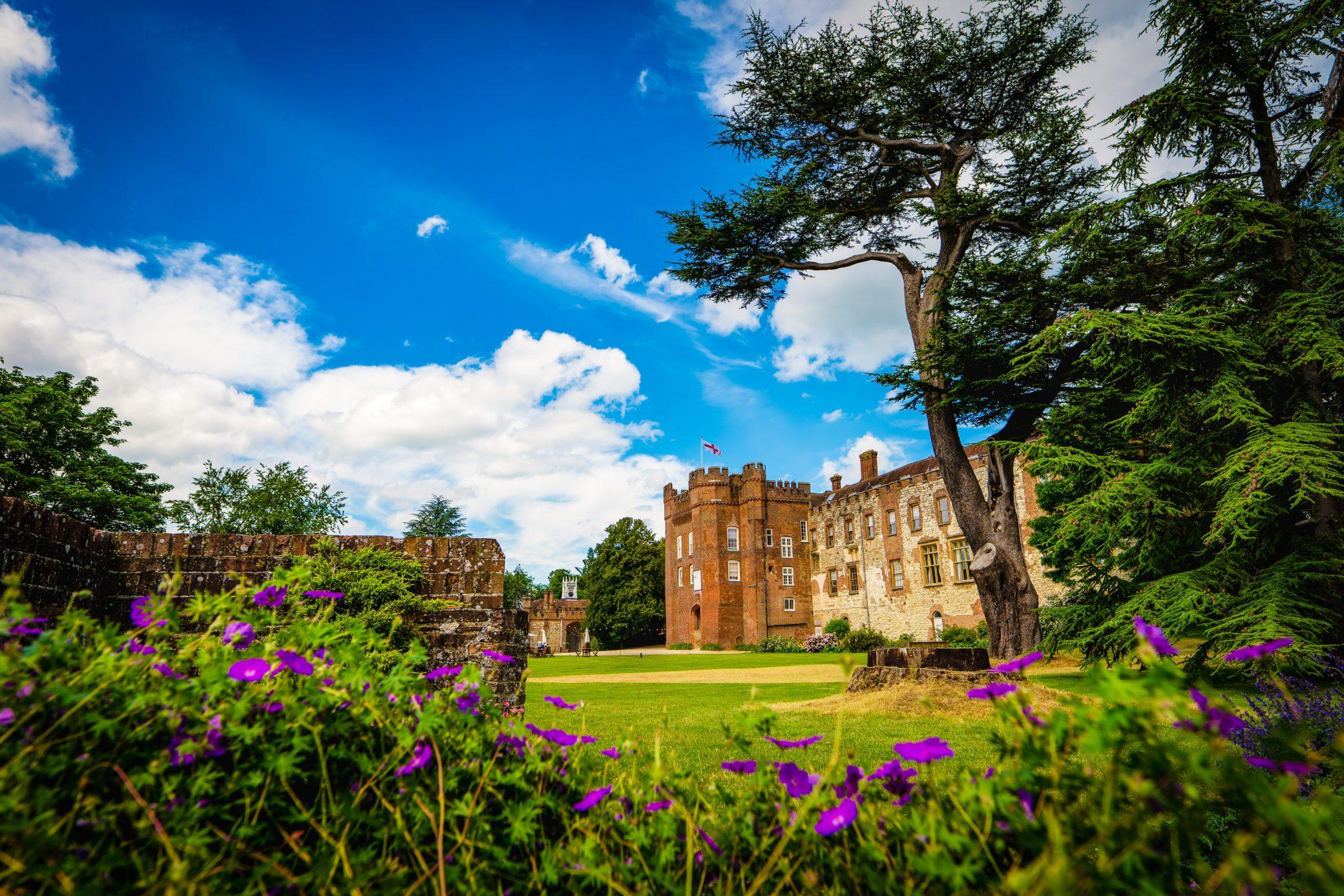 Farnham Castle luxury wedding venue in Surrey